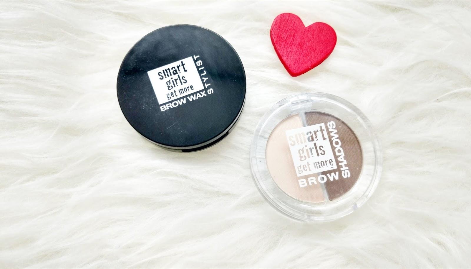 Smart Girls Get More-cień oraz wosk do brwi