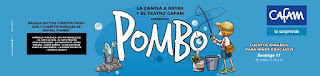 POSTER POMBO ¡Teatro en familia! | TEATRO CAFAM