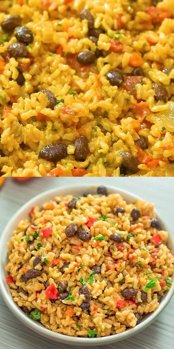Red Rice And Beans