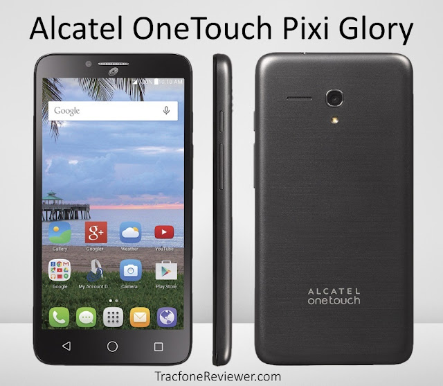 tracfone pixi glory review