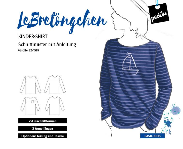 E-Book LeBretöngchen – Ein maritimes Basic-Shirt für Mädchen und Jungs