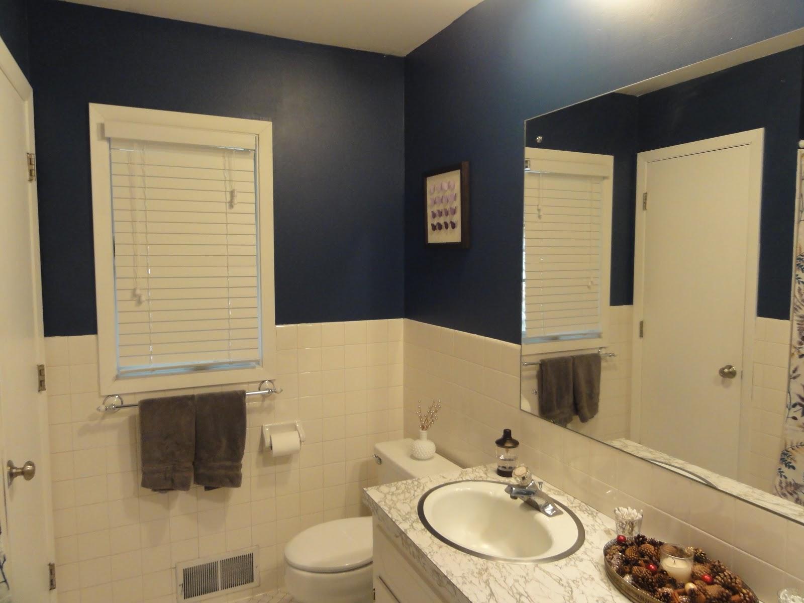 HalfAssed Crafter DIY Painted Bathrooms