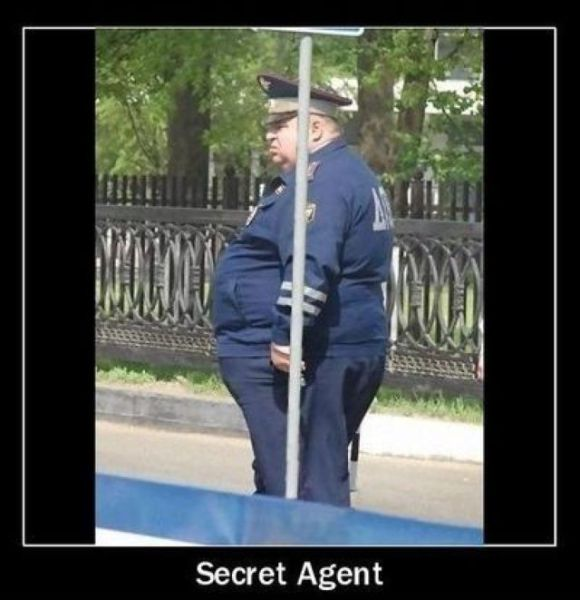 Just For Fun Pic: Secret Agent