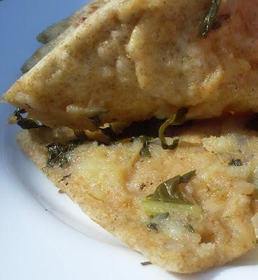 Indijske vegetarijanske lepinje