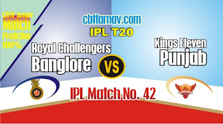 IPL 2019 43rd Match Prediction Today Who Will Win