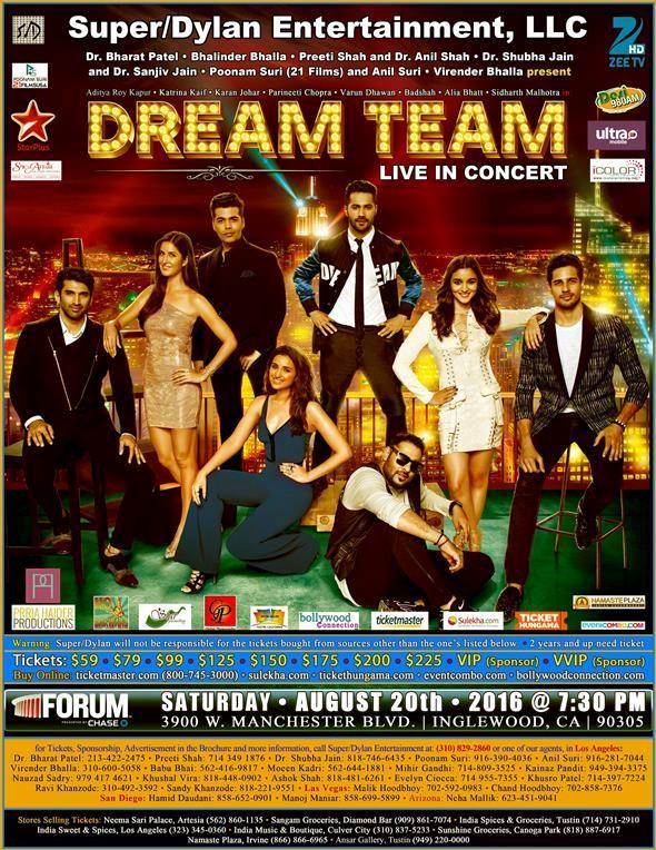 Dream Team Star Concert 2016