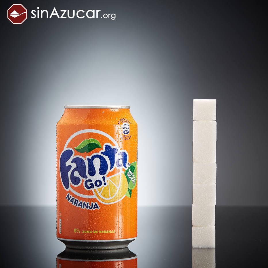 quanto acucar tem a fanta laranja - Fotos incríveis da quantidade de açúcar presente nos alimentos