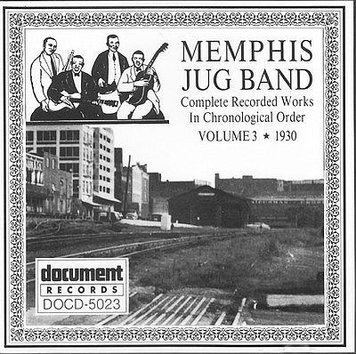 Memphis Jug Band - Volume 1: 1927-29