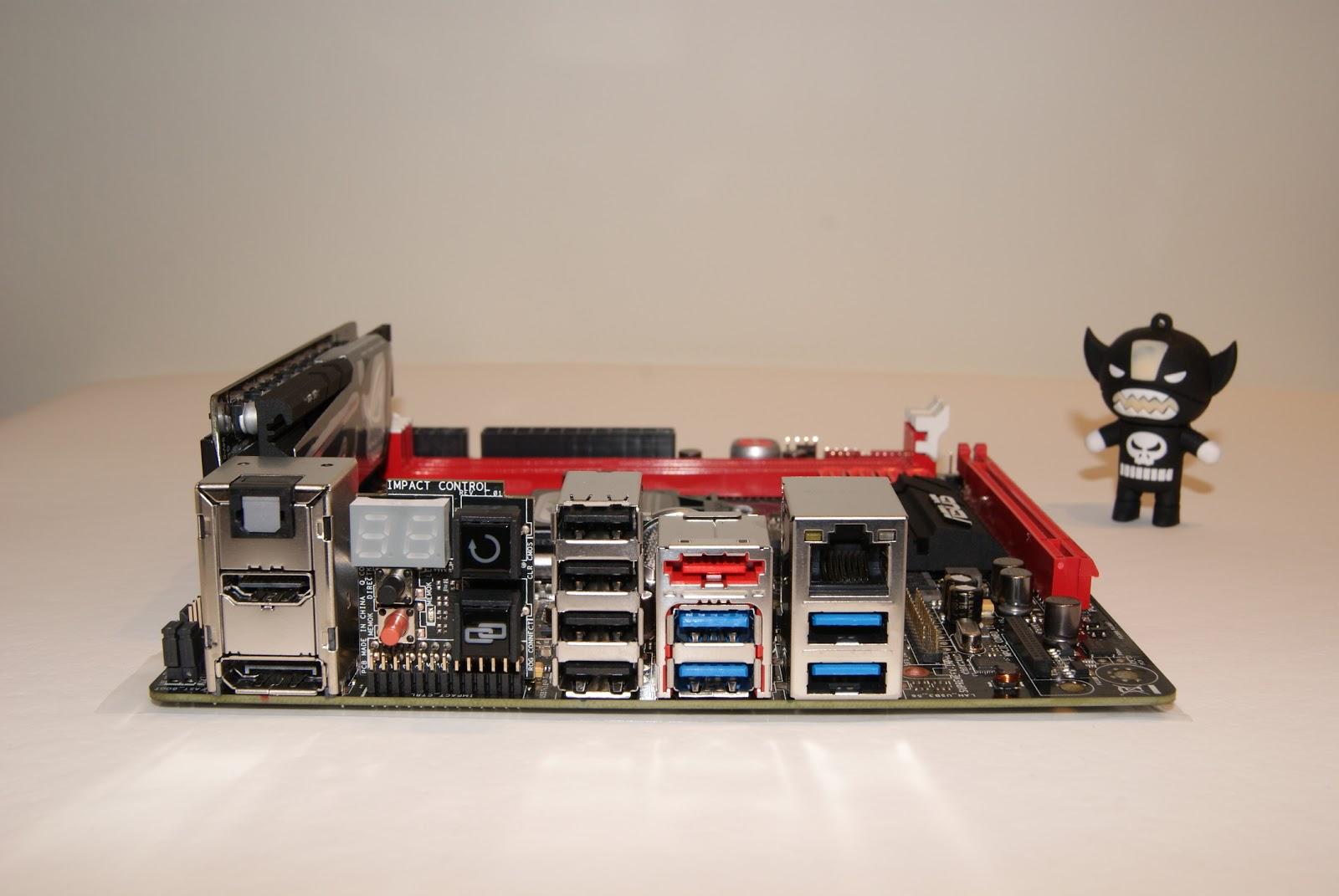 Asus ROG Maximus VI Impact, placa Mini-ITX para Intel Haswell