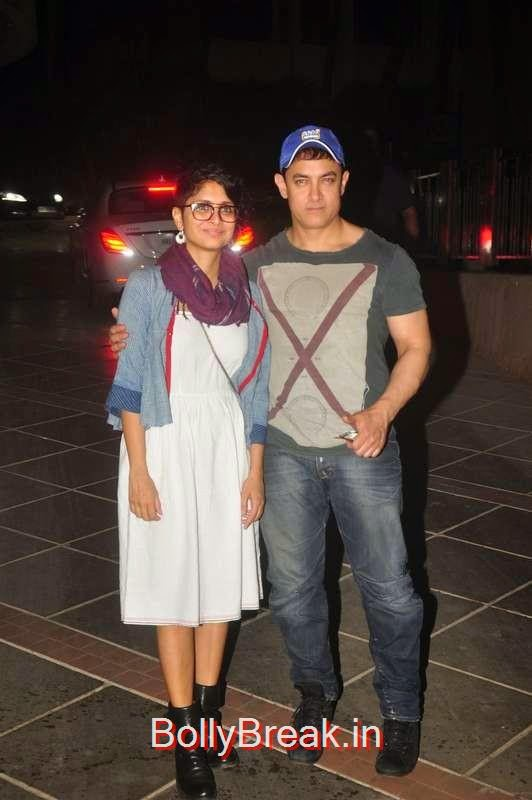 Kiran Rao and Aamir Khan, Kiran Rao, Mini Mathur Sidharth Malhotra and Gari Khan at Ranbir Kapoor's Party