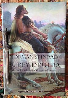 Portada del libro El rey druida, de Norman Spinrad