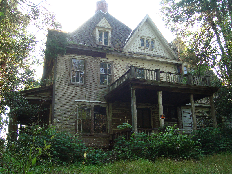 Outdoor Muse July 6 2012 The Abandoned House