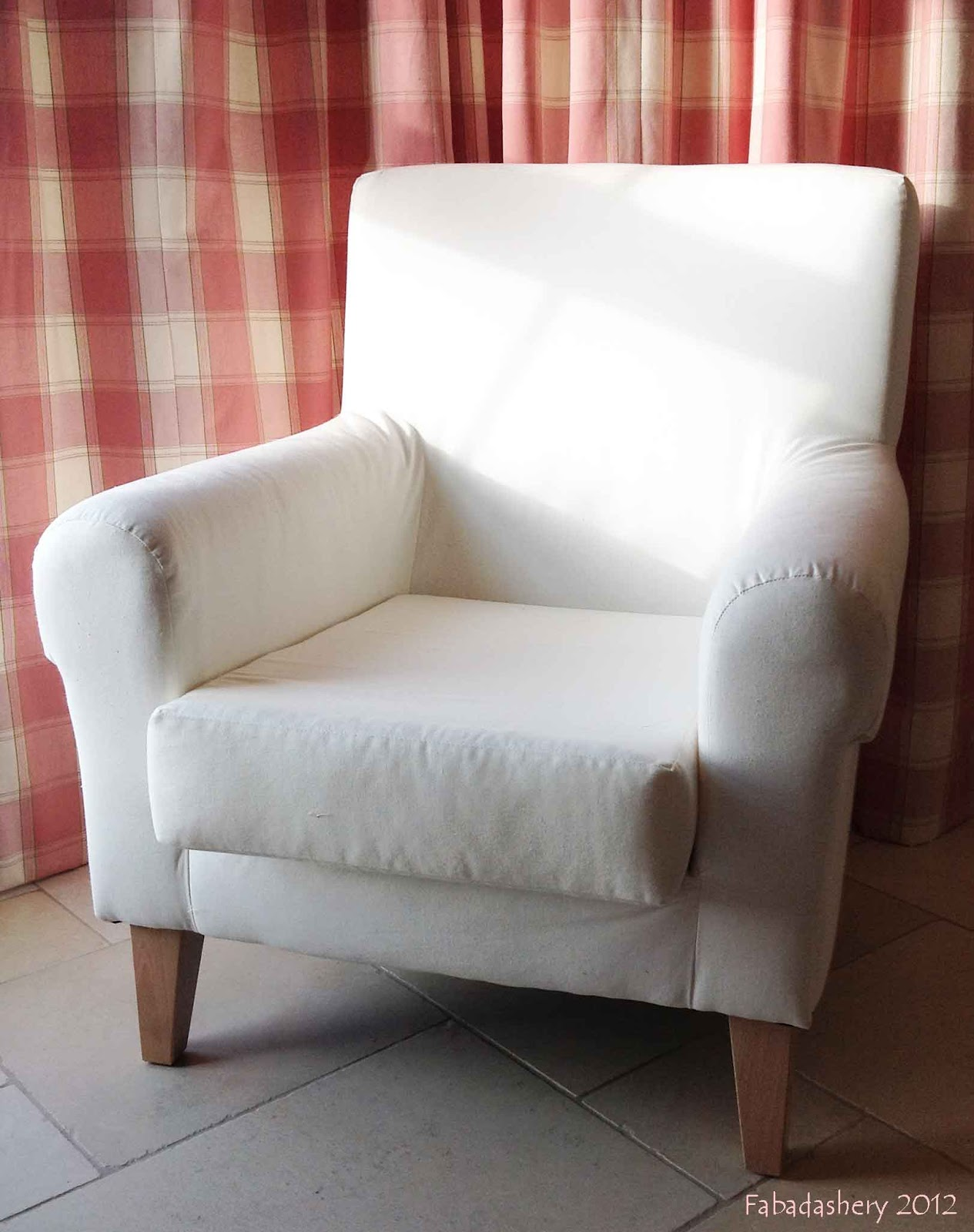 Tullsta Chair Cover Fabadashery: Couture For Ikea, With Bemz