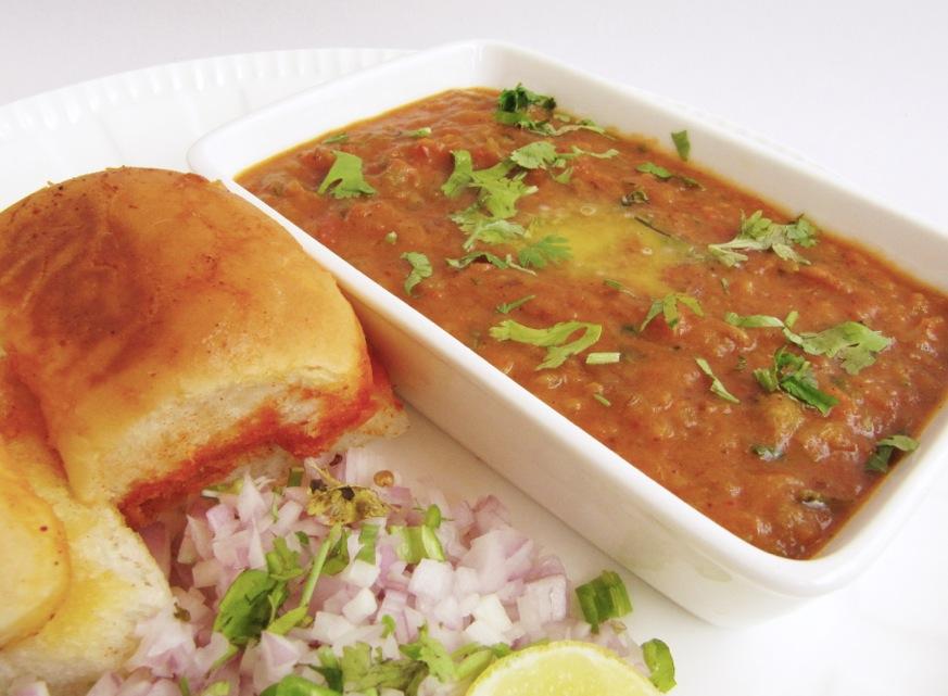 how to make jain pav bhaji
