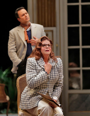Susan Graham and Joshua Hopkins  in 'Capriccio' (c) Ken Howard for Santa Fe Opera