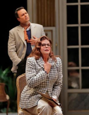 Susan Graham and Joshua Hopkins  in 'Capriccio' (c) Ken Howard for Santa Fe Opera