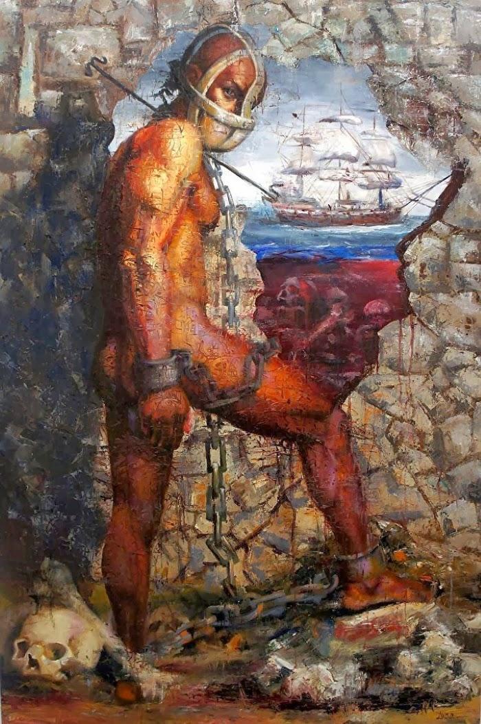 Талантливая американская художница. Nina Fabunmi
