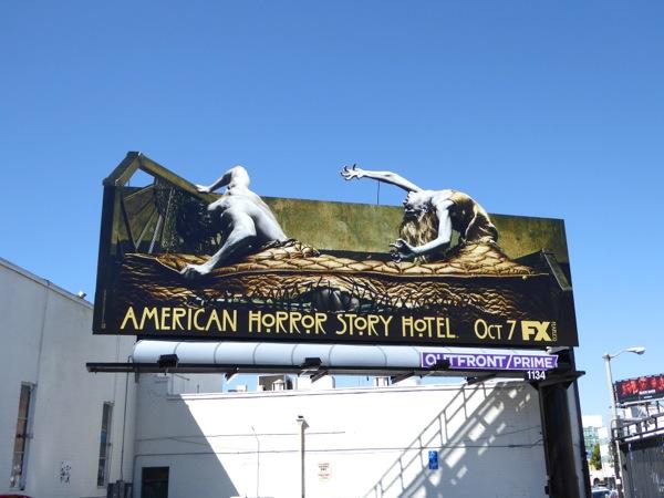 American Horror Story Hotel billboard