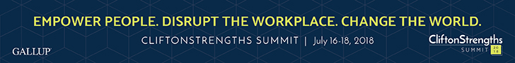 Join us for the 2018 CliftonStrengths Summit