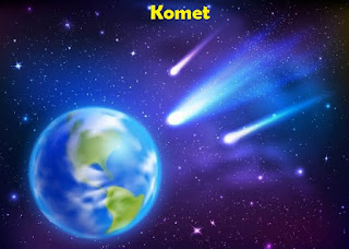 Komet - Pengunjung Bumi Dari Luar Angkasa