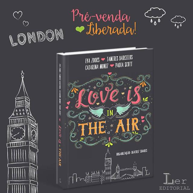 Resultado de imagem para livro Love is in the air