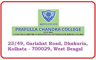 Prafulla Chandra College, 23/49, Gariahat Road, Dhakuria, Kolkata - 700029, West Bengal