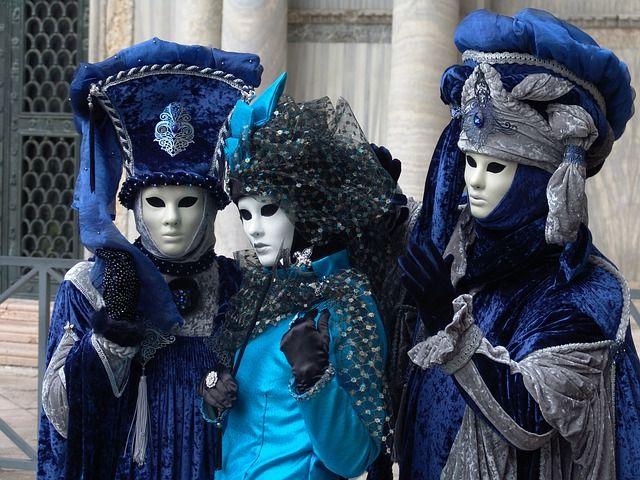 carnaval de venecia elegantes trajes