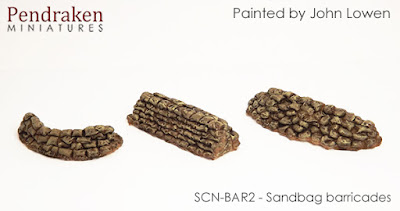 SCN-BAR2    Sandbagged barricades (3 types)
