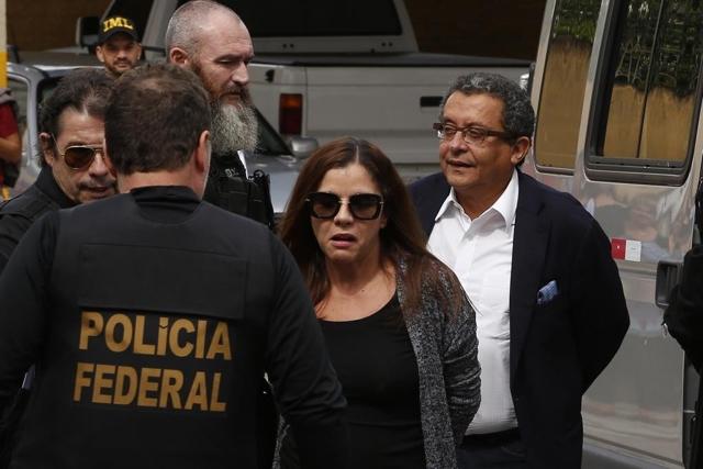 Joao Santana y Mónica Moura