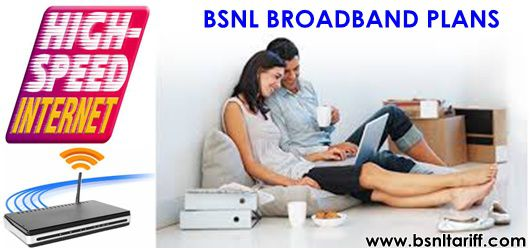 BSNL FTTH broadband plans security deposit charges revised