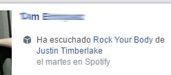 Como compartir tu musica de Spotify en Facebook