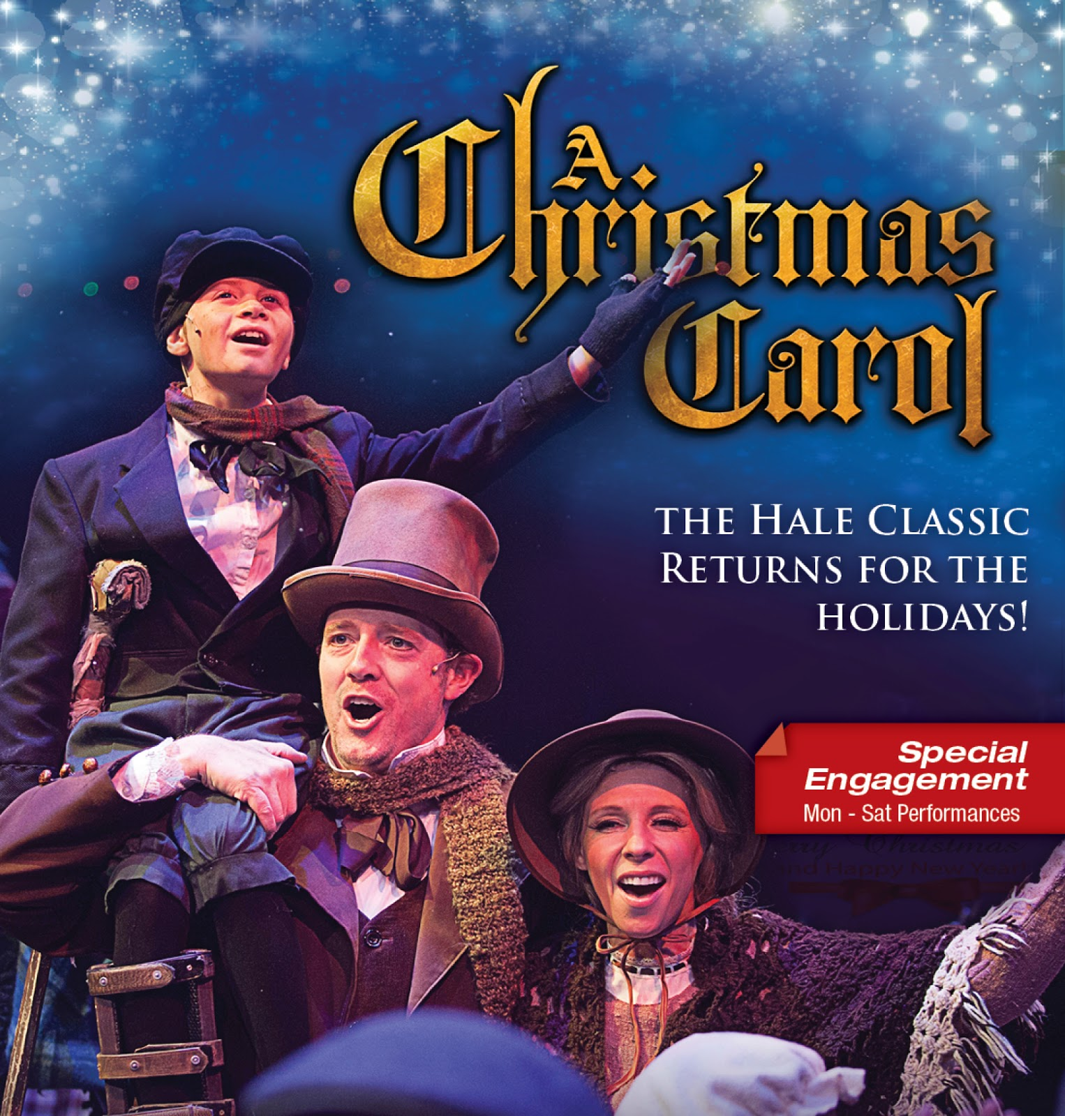 Tiny Tim A Christmas Carol: PHX Stages: Cast Announcement