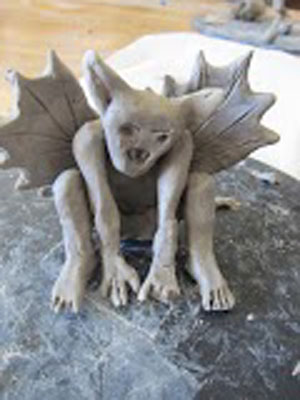 Sound Off Gargoyles Amp Monsters Fun With 3 D Clay Amp Design