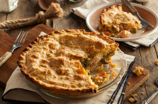 PALEO CHICKEN POT PIE #diet #paleo