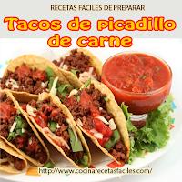 carne,tortillas de maíz,chile,cebolla,sal,ajo,cilantro,tomates