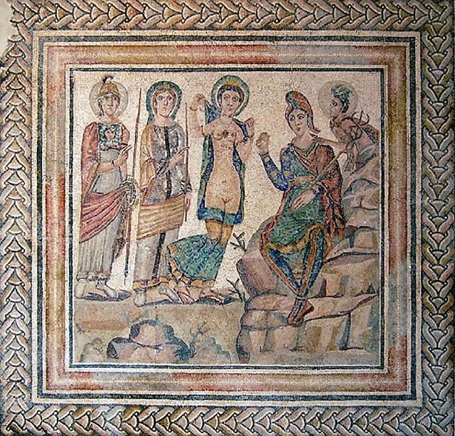 El juicio de Paris en la mitología griega 1