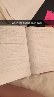 how my finals went | brazenandbrunette.com