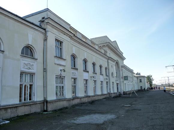 Стрий. Залізничний вокзал