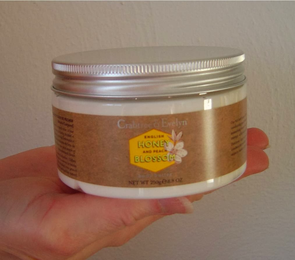Crabtree & Evelyn's English Honey & Peach Blossom Body butter.jpeg