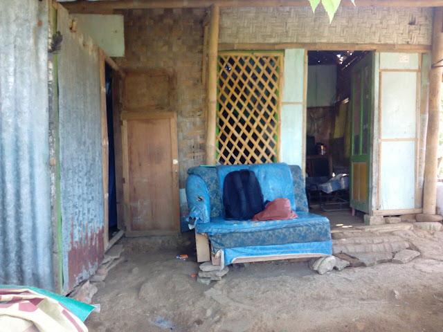 Rumah Keluarga Supardi Tampak Depan