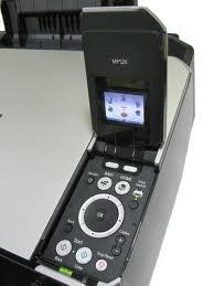 L'écran LCD reste noir sur Canon Pixma MP520