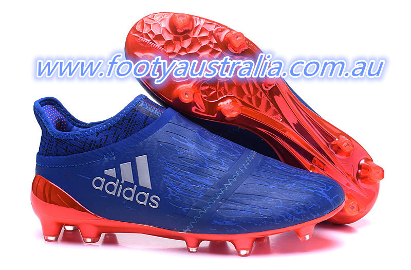 46f6ad4c2 Tech-wise, the Collegiate Royal Adidas X PureChaos 2016-2017 boots don't  feature any new details. Boasting a lace-cover construction, the Adidas X 16+  ...