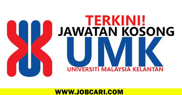 JAWATAN KOSONG UNIVERSITI MALAYSIA KELANTAN 2016