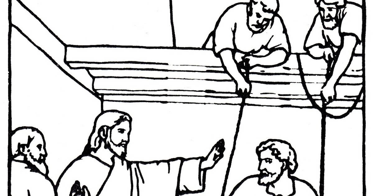 Christian Images In My Treasure Box: Jesus Heals The Man