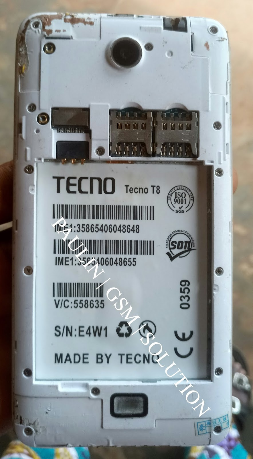 tecno camon t8 mt6735 android 6 1 stock rom firmware 10000