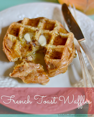 FRENCH TOAST WAFFLES RECIPE EASY BREAKFAST