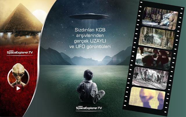 Sızdırılan KGB arşivlerinden gerçek UZAYLI ve UFO görüntüleri |  Bulunan uzaylıya yapılan otopsi