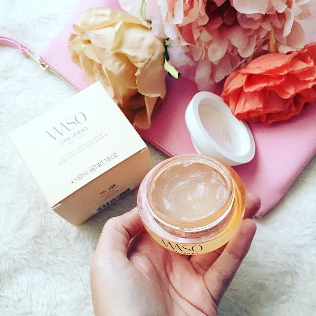 Clear mega-hydrating cream de la línea Waso de Shiseido