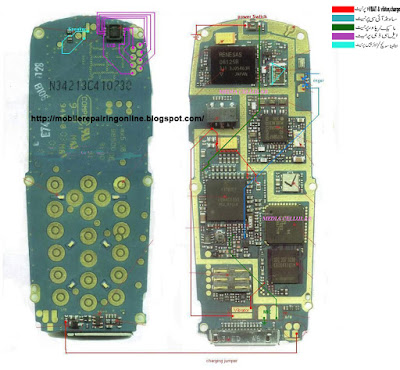 phone circuit diagram clearly the first step that you would do while you're testing or tracing the negative and positive ways in a cell phone circuit