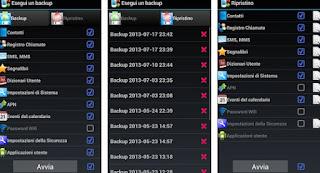 Backup app